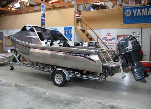 Senator Boats Pontoon Cuddy Rc 620