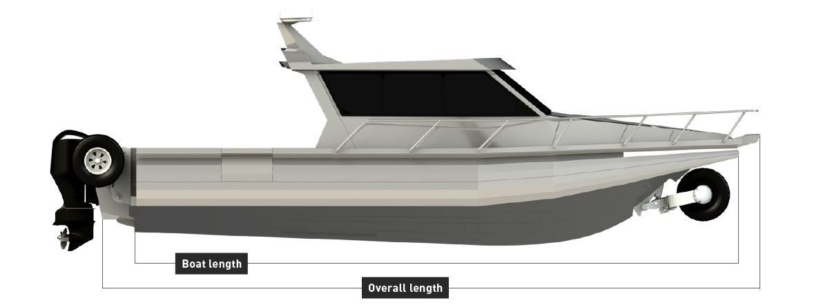 Senator SL 1170 True Measure | Senator Boats